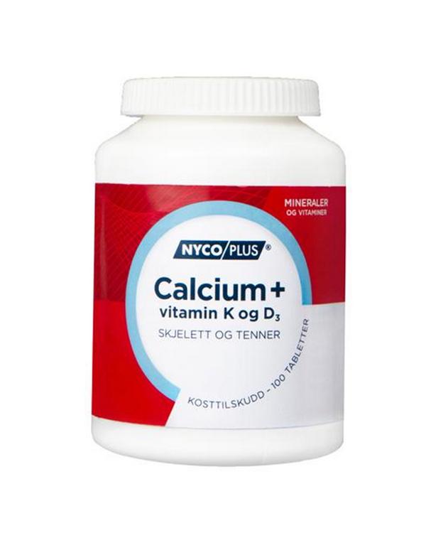 Viên Uống Bổ Xương Nycoplus® Canxi, Vitamin K VÀ D3 [100 Viên]